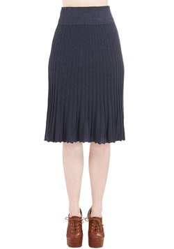 Infinite Influence Skirt in Navy