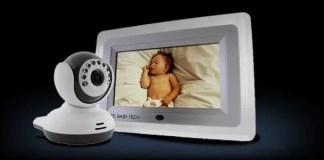 SafeBabyTech 7 -Inch LCD Baby Monitor