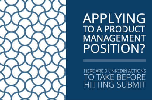 Applying to a Product Management Position?