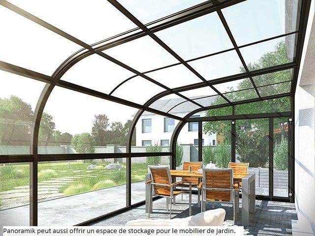 abri de terrasse veranda rideau