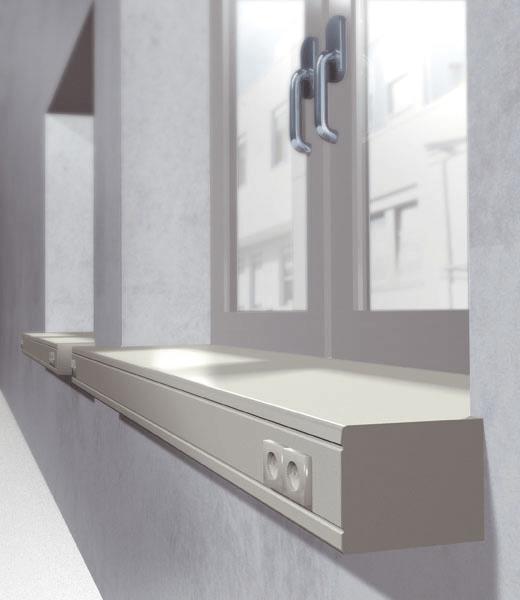 Tablette Fenetre Interieur Exclusiv E34 Appui De Fenetre Interieur Werzalit