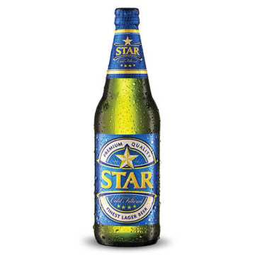 Star Lager - Beer from Nigeria 5.1% - Nigerian Breweries