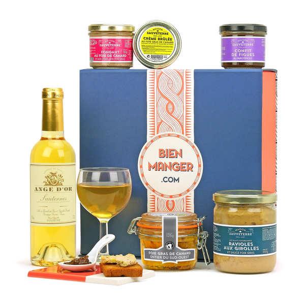 coffret cadeau foie gras du sud ouest