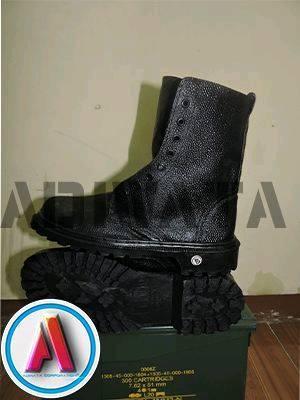 sepatu linmas bahan semi kulit