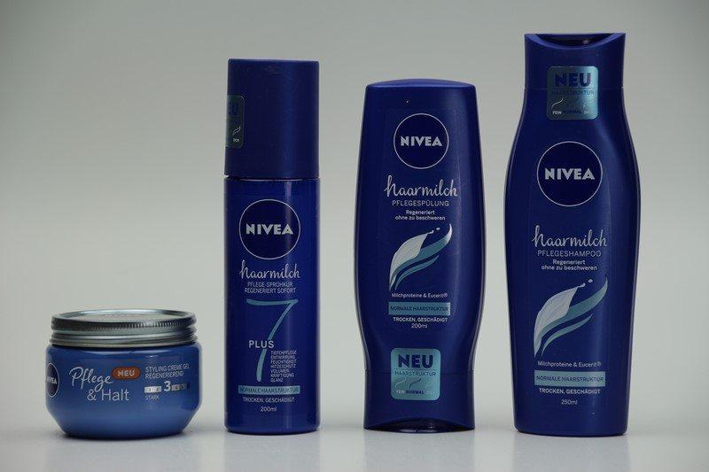 NIVEA Haarmilch Gewinnspiel