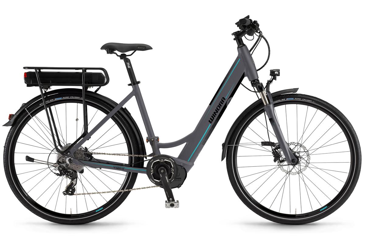 Winora City Elektro Fahrrad Y280 X 400 Wh Yamaha 8 Gang