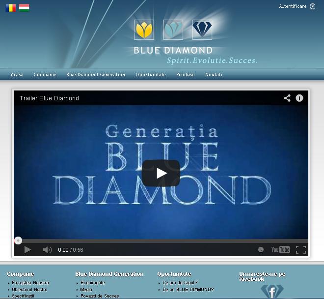 Oportunitate Blue Diamond