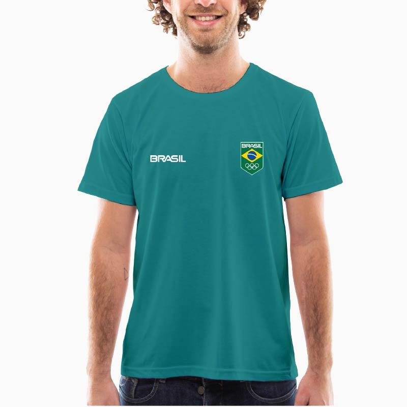 Camiseta---Unissex--Azul-Turqueza---DryFit-Sublimática