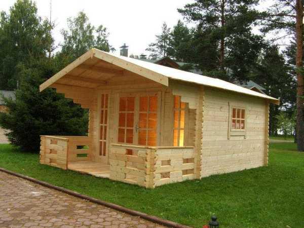 Гостевые домики на частном участке. Фото