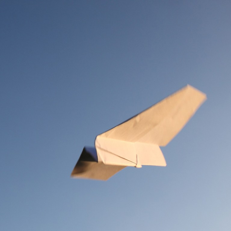 Paper Airplane Compelling Resume
