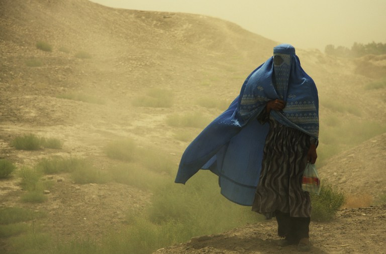 Woman from Afghanistan