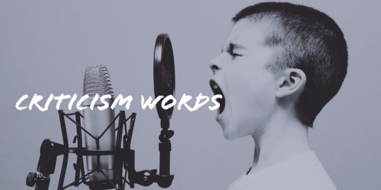 boy yells criticism words into a microphone | ProEdit