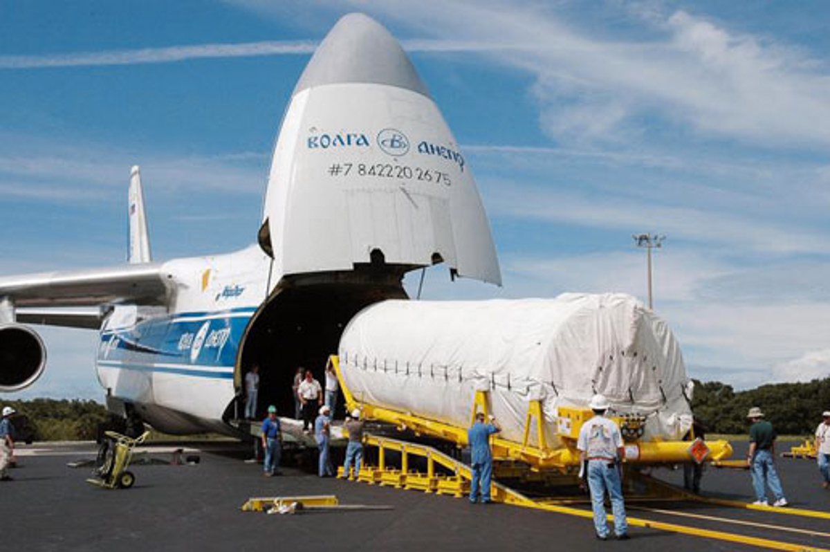 Front-Loaded Cargo Plane