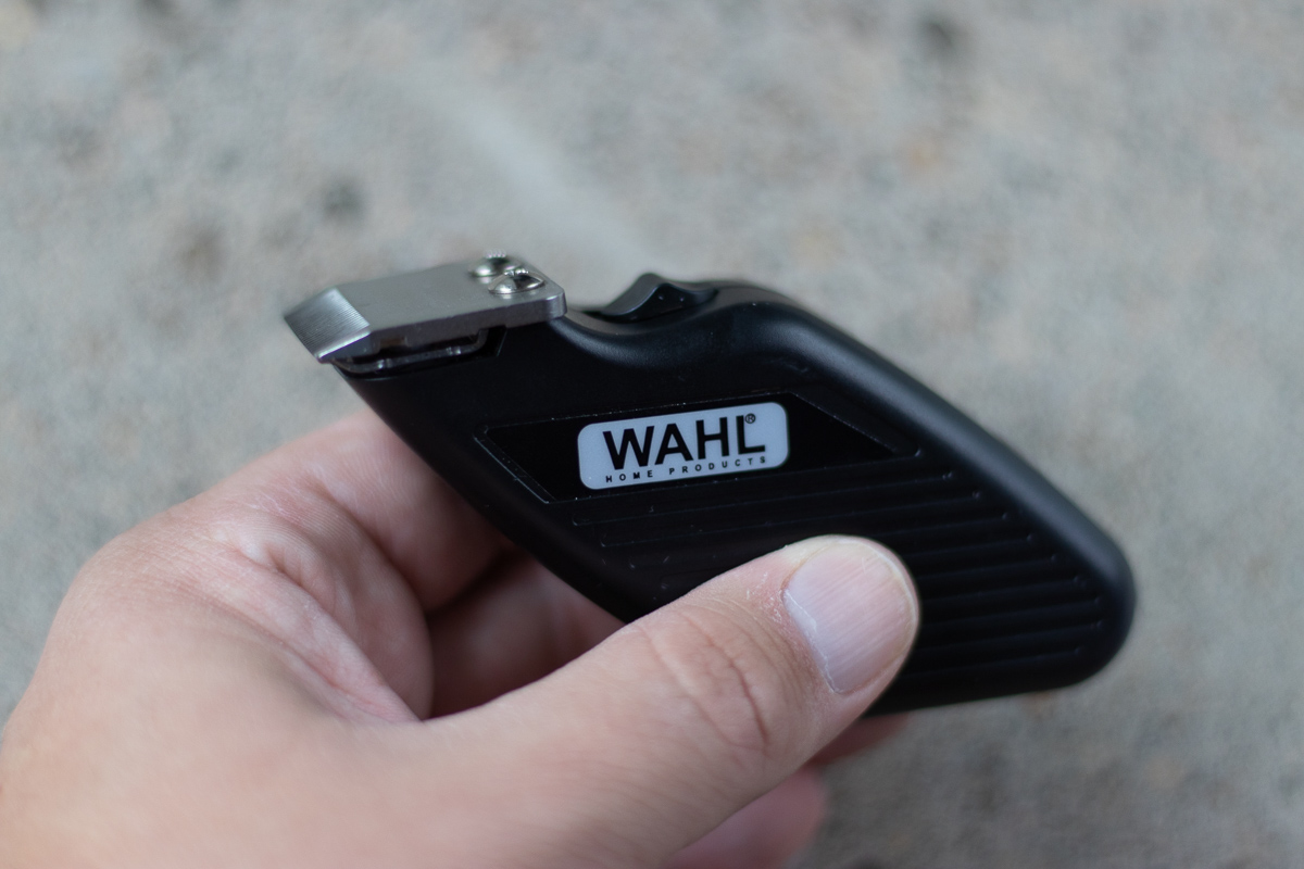 EDC Wahl travel trimmer side view
