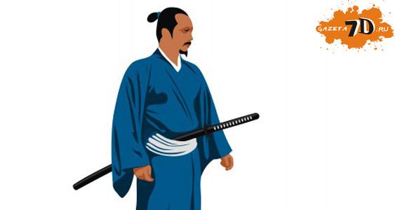 старый мудрый самурай