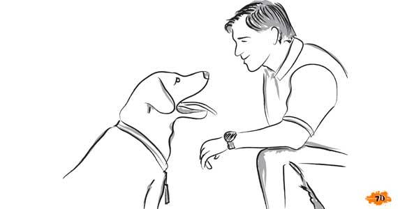 дружище про собаку