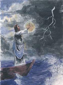 Иисус успокаивает бурю