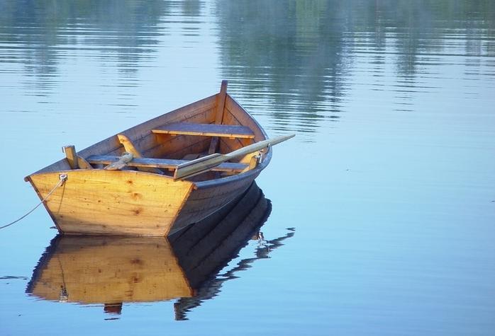 история о крестьянине и профессоре лодка