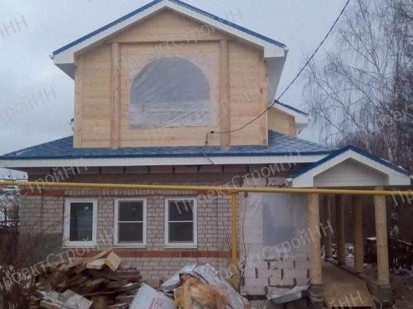 реконструкция дома, переделка старого дома, пристрой к дому