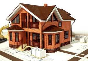 Строительство кирпичных домов, этапы строительства домов из кирпича, технология строительства кирпичного дома