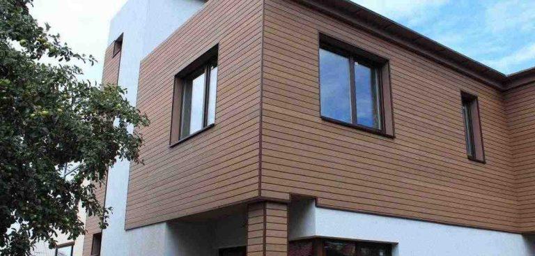 фасадные работы, отделка фасадов сайдигом, облицовка дома кирпичом, внешняя отделка дома штукатуркой