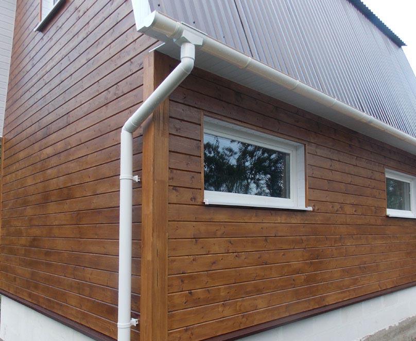 имитация бруса, отделка фасада дома, отделка дома имитация бруса