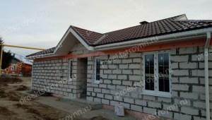 дом из газобетона, строительство дома из газобетона, дом из газобетона под ключ