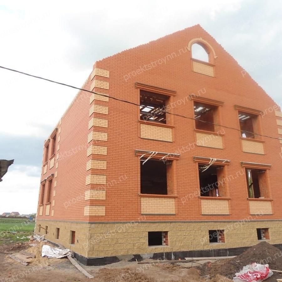 кирпичный дом, строительство кирпичного дома, дома из кирпича, кладочные работы