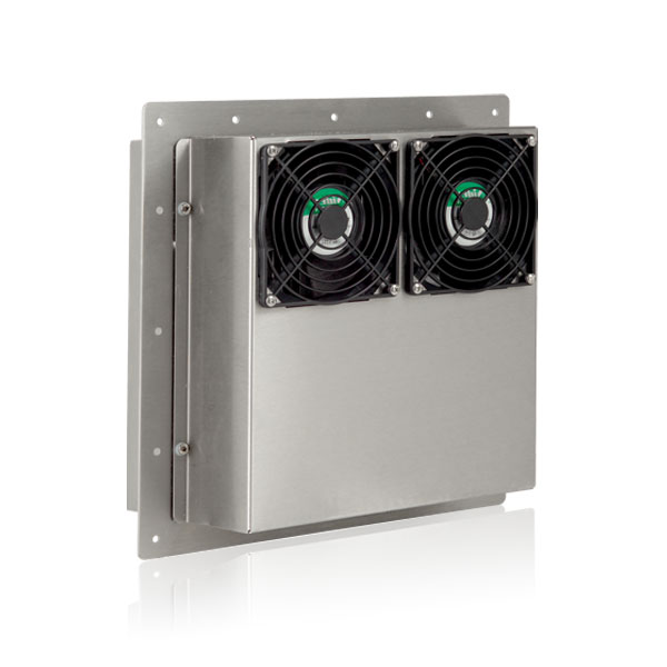 outdoor projector enclosure cooling systems