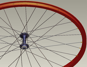 Design Engine Pro/Engineer Wheel