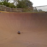 Dry Bowl at Burton's Burlington Skatepark