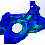Stress analysis of an automotive Oil Pump