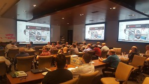 Design Engine presenting at the Solidworks user conference in Utah