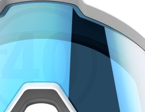 Goggles with the Design Engine 40 number on them