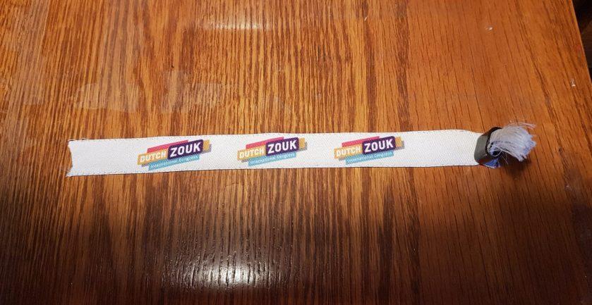 bracelet du Dutch congress, prof de zouk brésilien