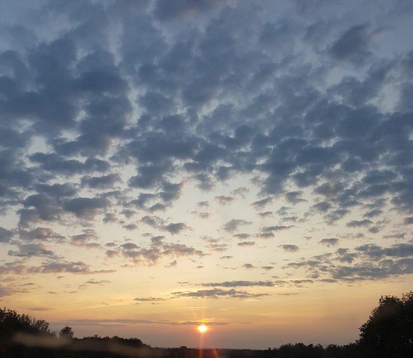 lever du soleil, se lever tôt, un prof zen, prof-alternatif