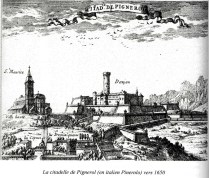 Pignerol - la 1ère prison