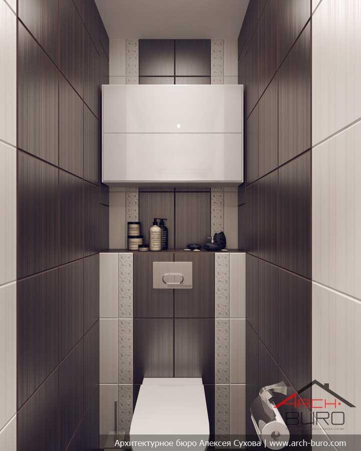 дизайн туалета 2 квм фото без ванной 5