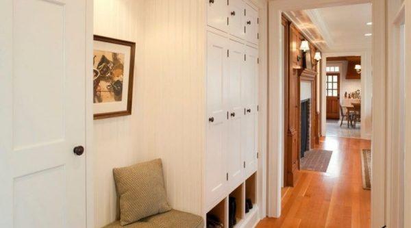Дизайн коридора в квартире: реальные фото в панельном доме ...