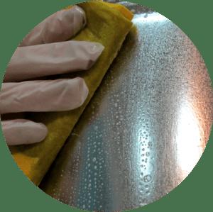 химическая очистка поверхности