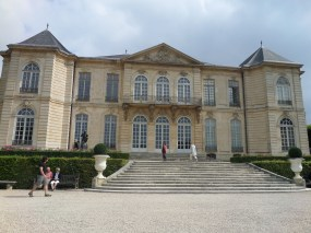 Back of Hotel Biron of Musee Rodin