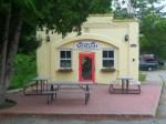 A cafe on property