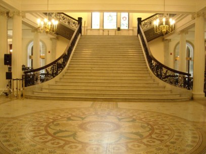 Interior of Massachusetts State House
