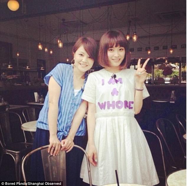 439A71F000000578 0 image a 7 1503828752594 - Shanghai photographer documents very rude slogan t-shirts