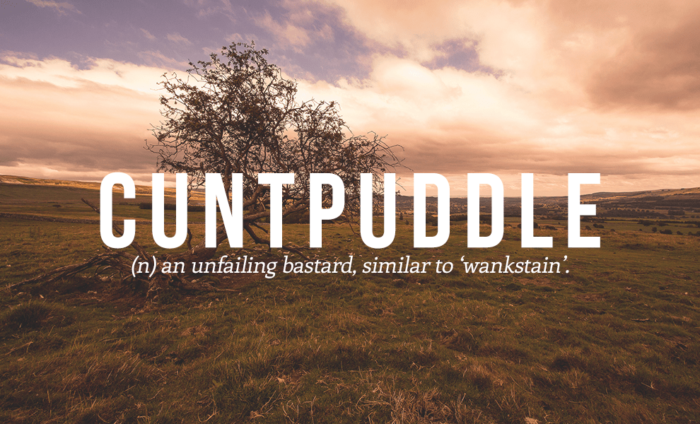 cuntpuddle definition - Cuntpuddle