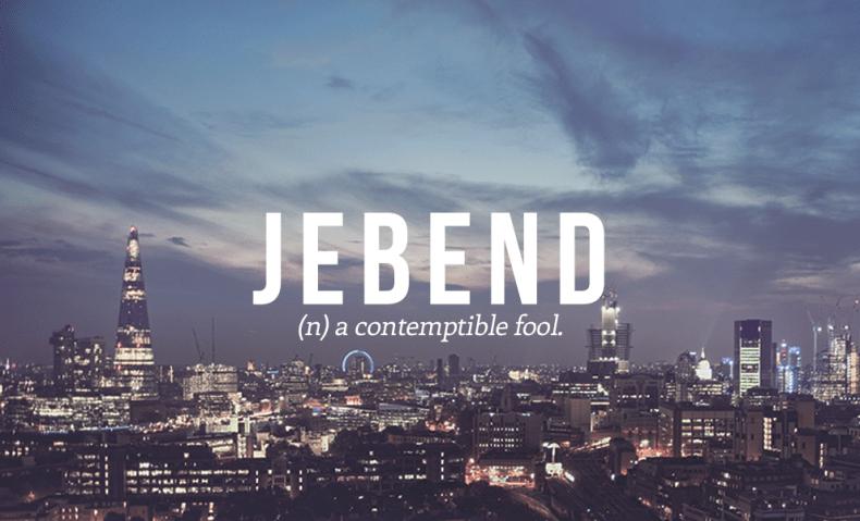 jebend definition - Jebend