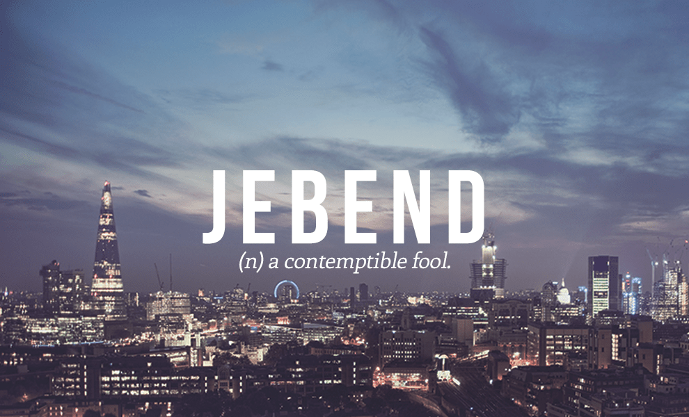 jebend definition - Jebend
