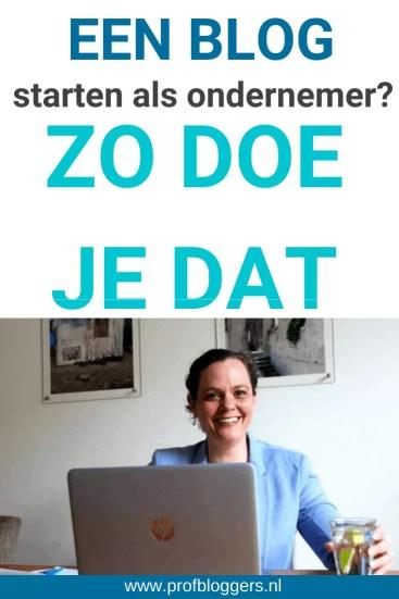 Hoe start je een blog als ondernemer