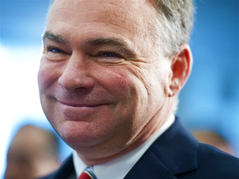 Tim Kaine, falso católico (NBC News)