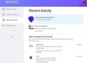 Do you still Yahoo!? Yahoo email privacy checkup